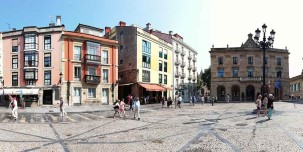 Plaza Mayor, Gijón