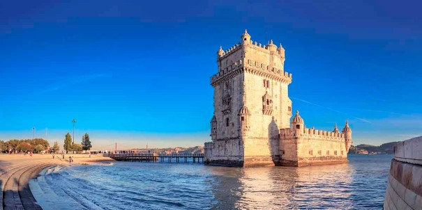 The Torre de Belem castle near Lisbon, Portugal