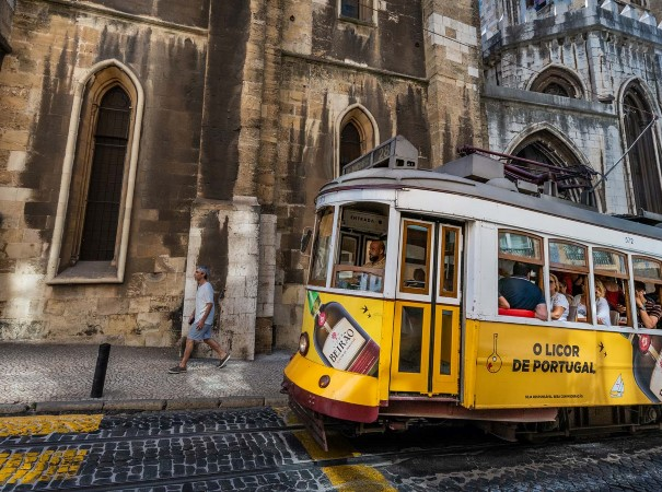 See Lisbon by tram.