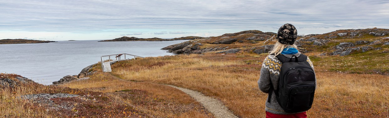 Talk a walk in untouched nature at Red Bay.