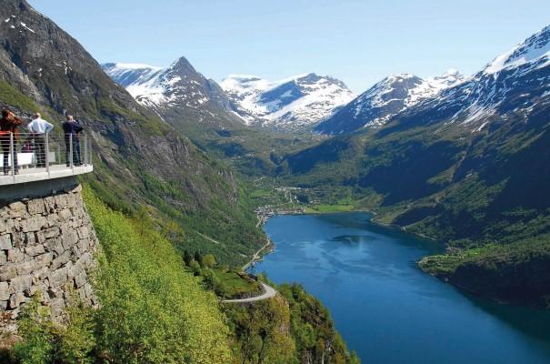 Visit the beautiful Geirangerfjord, Norway.