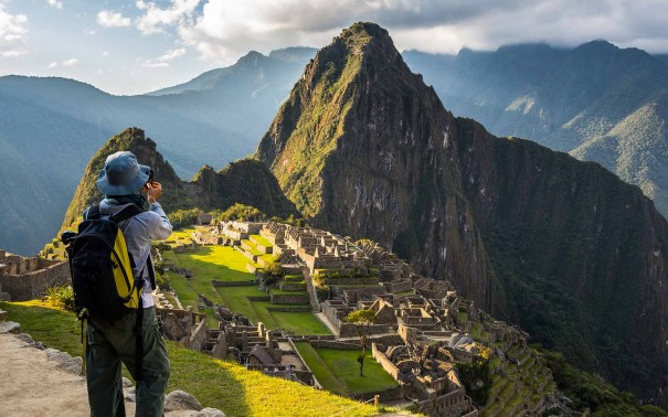 Experience the majesty of Machu Picchu.