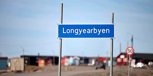 Welcome to Longyearbyen, Svalbard.