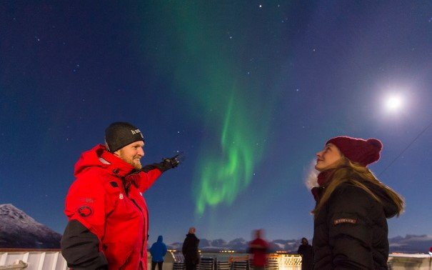 Hear more about Northern Lights or Midnight Sun while experiencing it yourself.