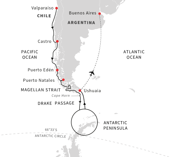 Cruise to Patagonia, Chile and Antarctica | October 2019 | Hurtigruten