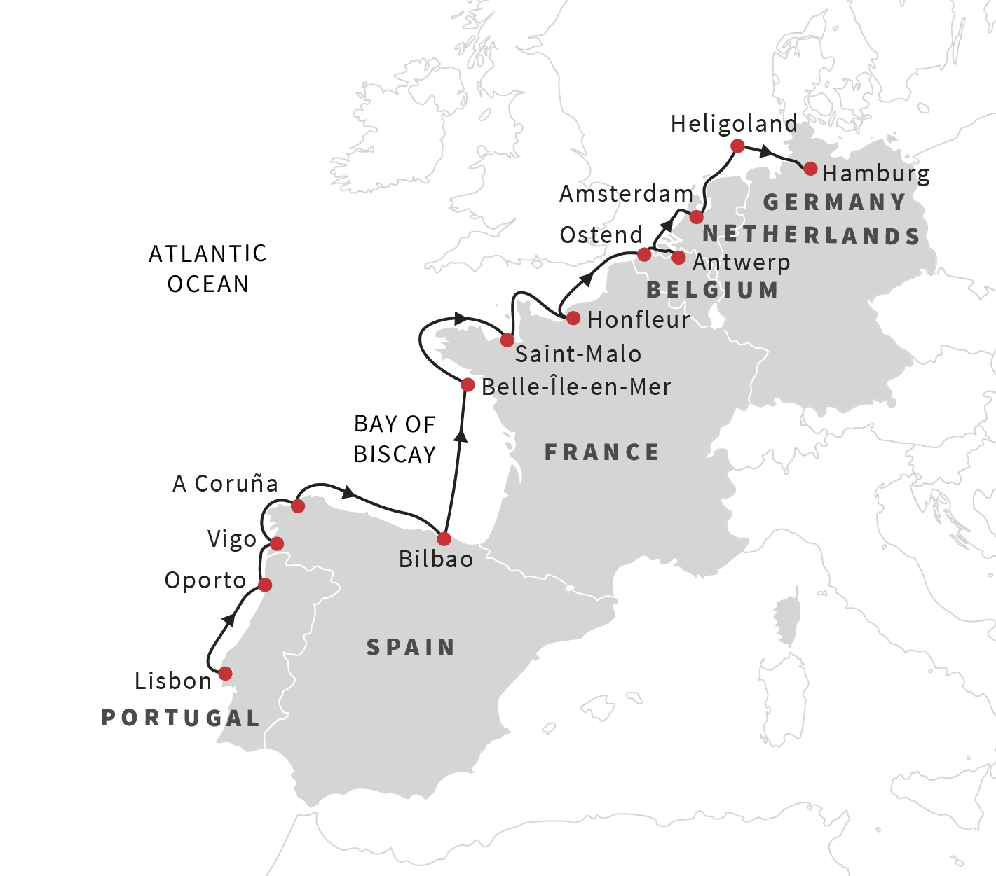Cruise the european coast from lisbon to hamburg may 2019 see many of the unesco world heritage sites along the european coast gumiabroncs Gallery
