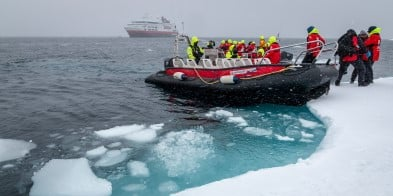 We aim to visit several sites with traces of earlier expeditions. We will call at some of the world's northernmost communities, explore legendary inlets and channels, and the Expedition Team will take you on exciting small boat cruising and landings.