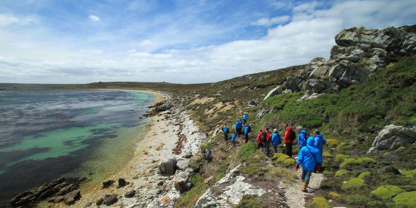 A walk through scenic Falklands