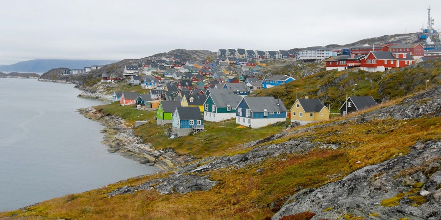 The city of Nuuk