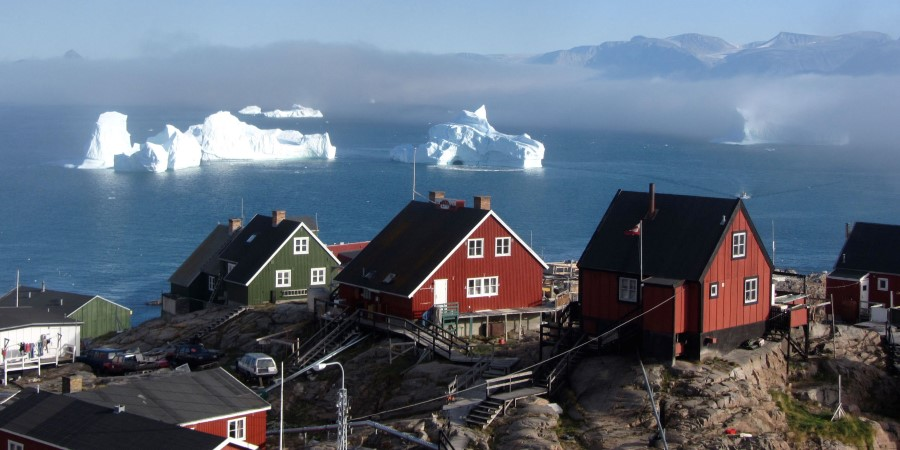 We visit Uummannaq, according to myths a piece of your heart remains here