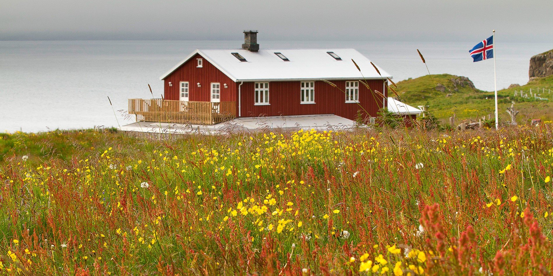 The sympathetically renovated Icelandic farmhouse of Skalanes