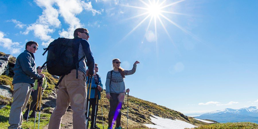 Summer hikes and activities with Hurtigruten