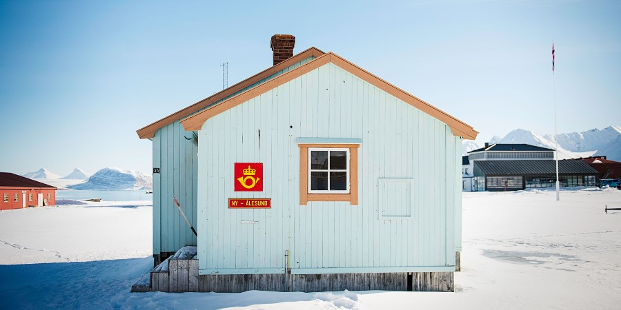 The world's northernmost post office in Ny-Ålesund, Svalbard.