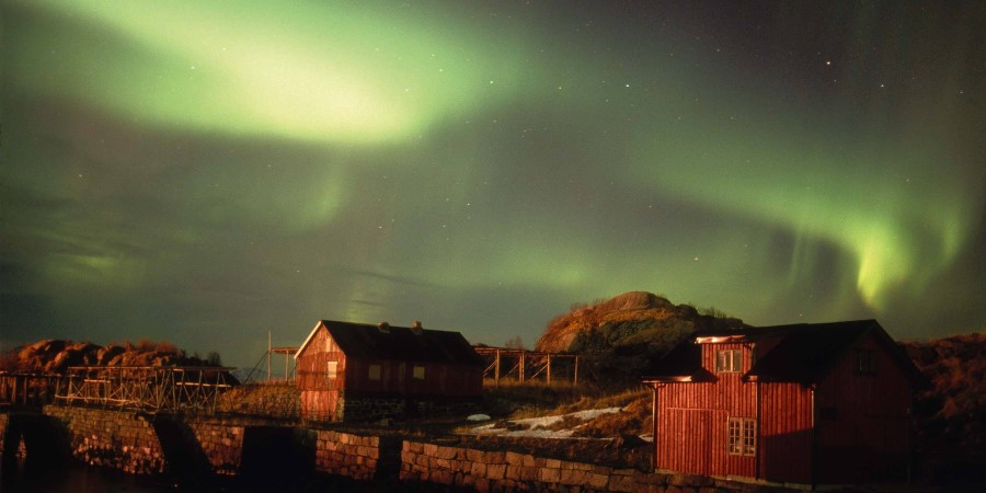 Northern Lights in Lofoten