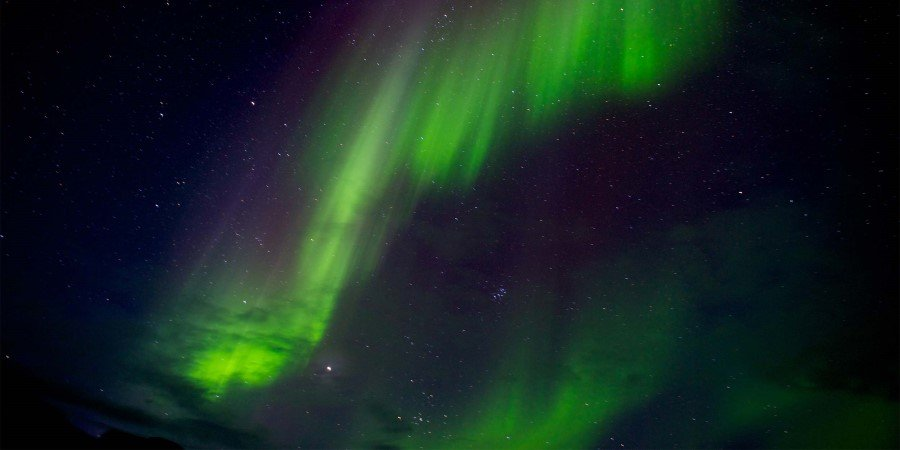 The northern lights come in all shapes and sizes