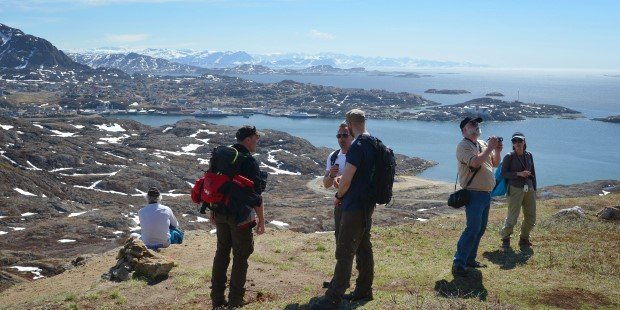 Go for a hike in Sisimiut, Greenland.