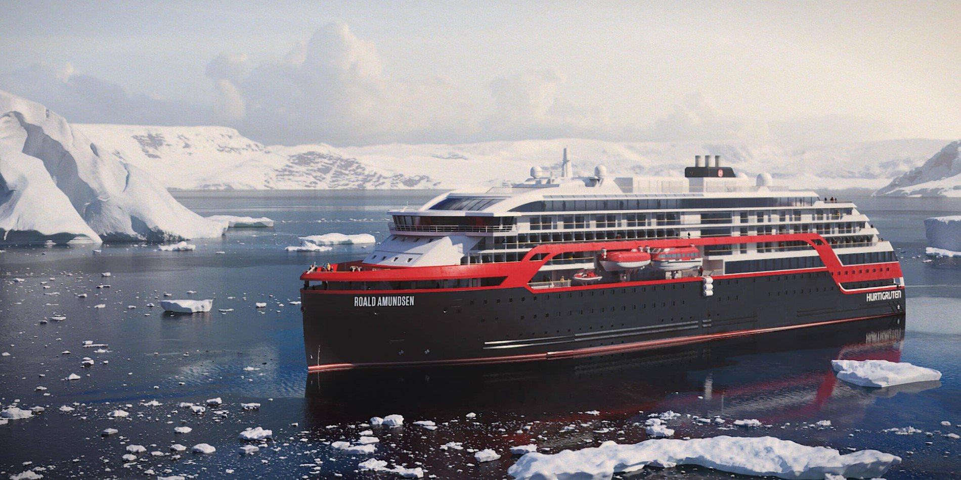 New hybrid explorer ships | Hurtigruten