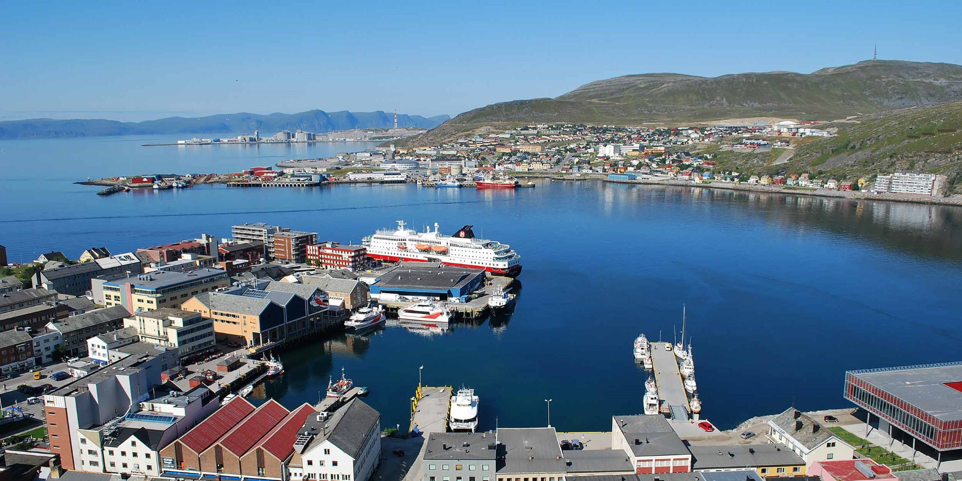 The port of Hammerfest