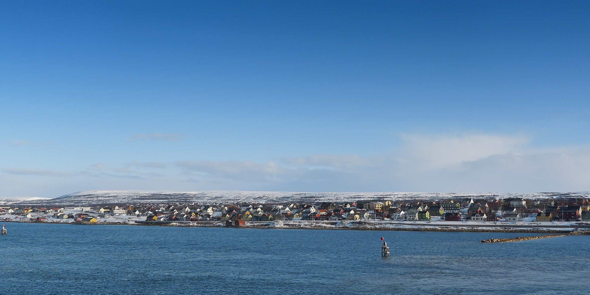 Approaching Vadsø
