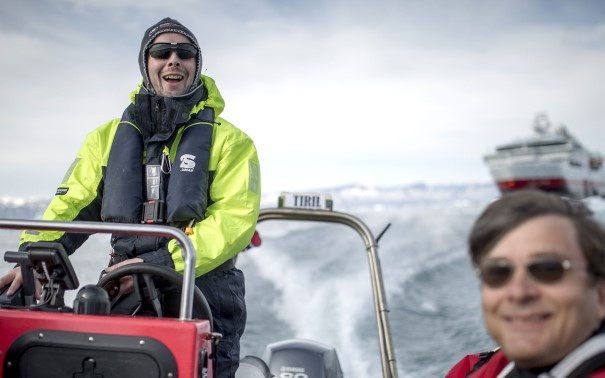 Get ready to explore. MS Fram takes you ashore with Polar Circle boats.