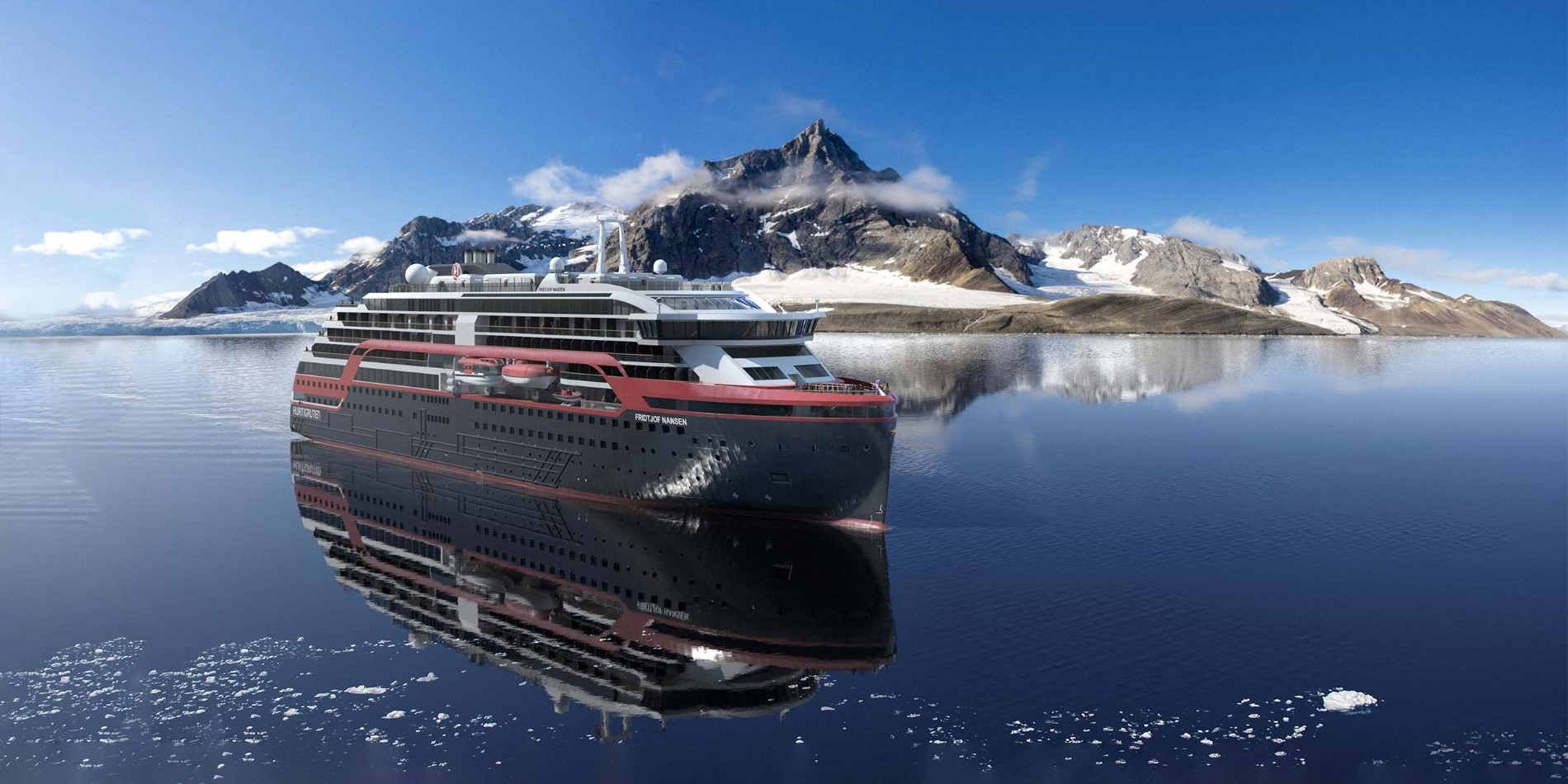 Cruise with MS Fridtjof Nansen in Svalbard
