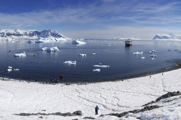 Step ashore and explore Cuverville Island
